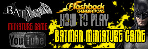 How to Play Batman Miniature Game