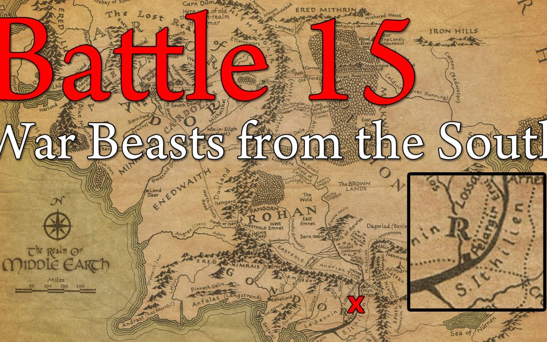 15. War Beasts From The South